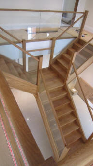 T Shaped Stairs
